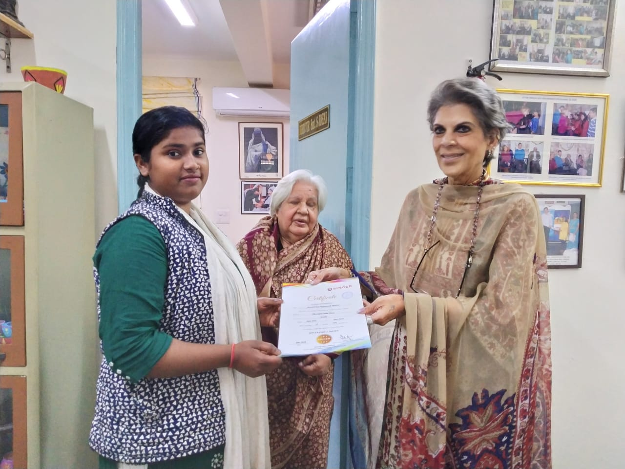 Certificates issued by Ms Romi Bhatia(2)
