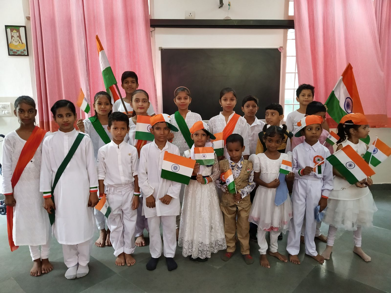 Special assembly on Independence Day