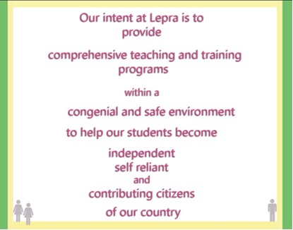Lepra India Trust - Leprosy Treated centre